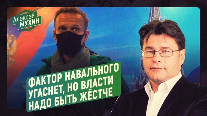 Фактор Навального угаснет, но власти надо быть жёстче (Алексей Мухин)