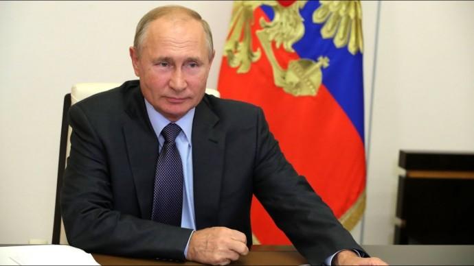Путин оценил экономическую ситуацию в России на фоне пандемии COVID