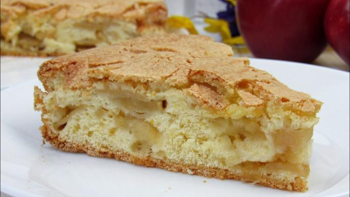 Вкуснейший Яблочный Пирог с хрустящей корочкой ☆ Самый простой и быстрый рецепт пирога с яблоками!