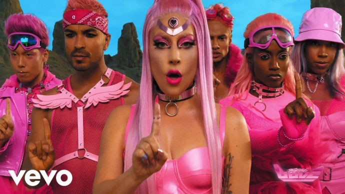 Lady Gaga - Stupid Love (Official Music Video)
