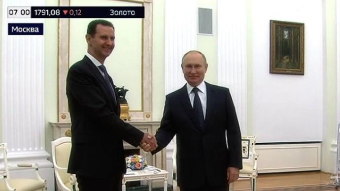 Срочно! Первые ЗАЯВЛЕНИЯ Путина и Асада со встречи в Москве!