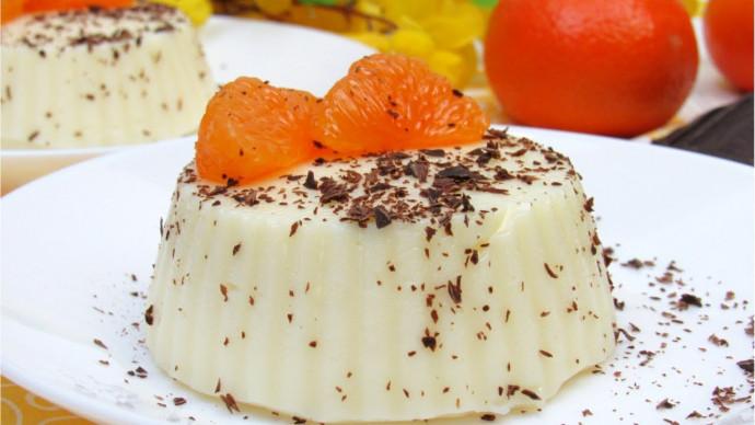Нежный Десерт без выпечки ☆ Простой и вкусный Десерт из молока ☆ Молочный пудинг
