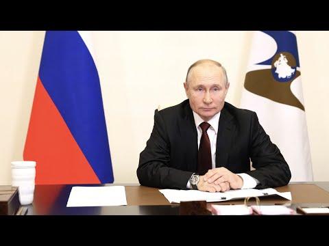 Путин рассказал о стремлении улучшить ситуацию с трудовыми мигрантами