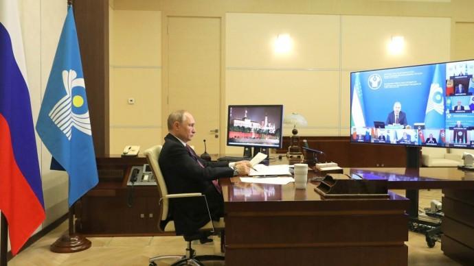 Путин и лидеры СНГ обсудили пандемию и перспективы развития