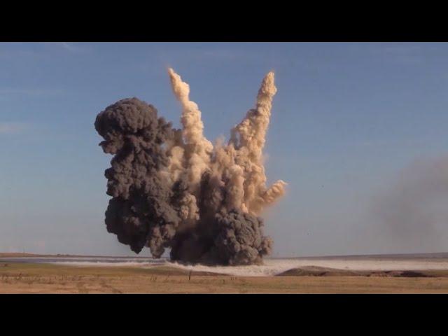 В Крыму взорвали авиабомбы времён Великой Отечественной войны