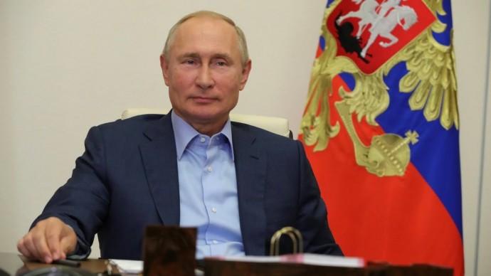 Путин провёл встречу с победителями конкурса управленцев «Лидеры России»