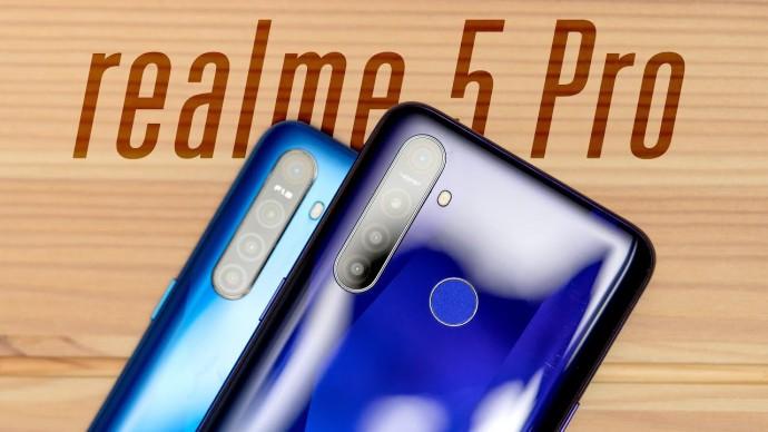Обзор realme 5 и 5 Pro (с NFC!)