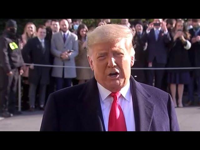 Срочно! Трамп предупредил об угрозе для США в случае его импичмента!