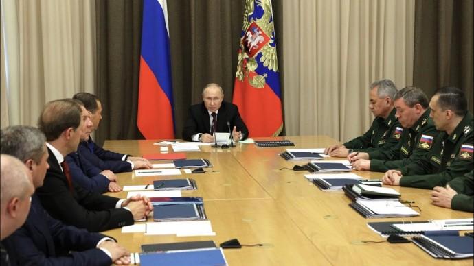"""""""С-500"""" на подходе. Путин рассказал о перевооружении российских ВКС"""