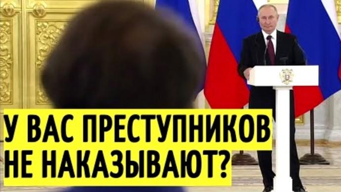 Журналист ПОБЛЕДНЕЛ! Путин и Меркель ответили на вопрос о Навальном!