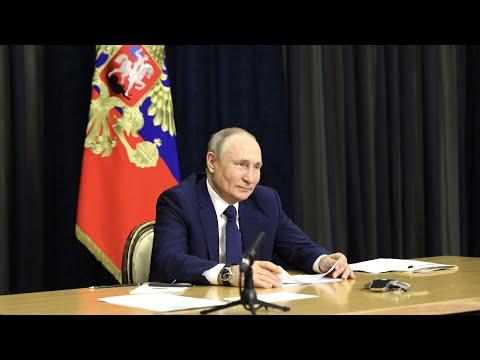 Путин поделился личным воспоминанием с многодетными семьями