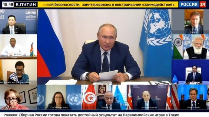 Не ЛЕЗЬТЕ в наши дела! Мощная речь Путина в Совбезе ООН!