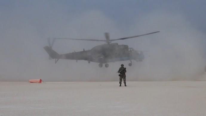 Российская военная полиция взяла под охрану бывшую базу США в Сирии