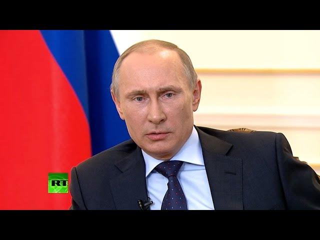"""Редкое интервью Путина, за две недели до """"взятия"""" Крыма"""