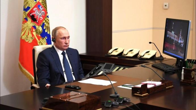 Путин провёл встречу с Асадом по видеосвязи