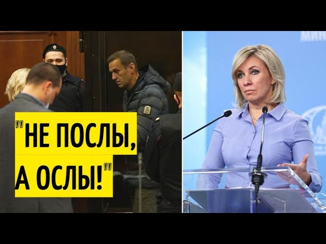 """Мария Захарова о реакции западных """"партнёров"""" на приговор Навальному"""