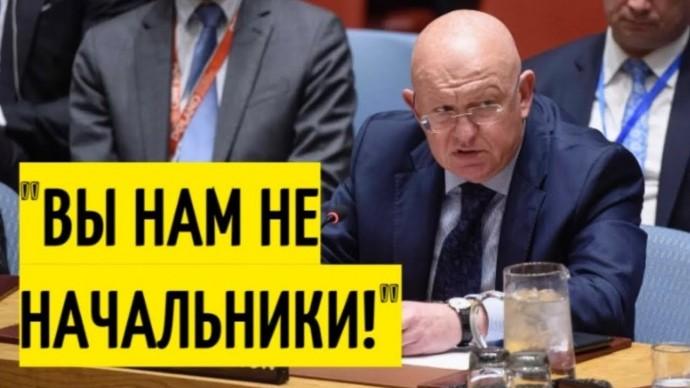 Небензя в ООН ставит НА МЕСТО Британию, США и Францию!