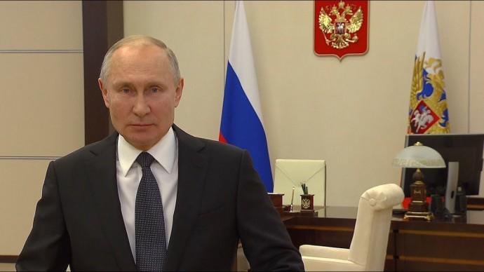 Путин поздравил Следственный комитет с 10-летием