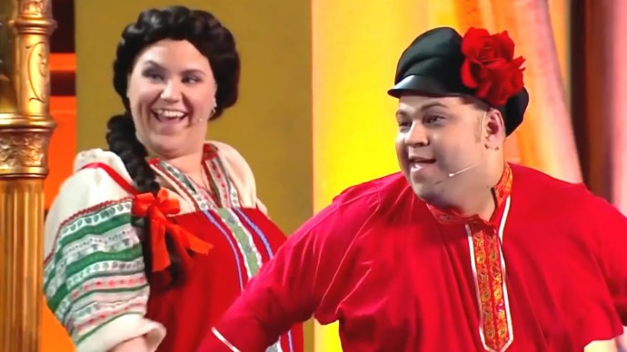 Махач: классика VS народная музыка - Уральские Пельмени - Спасите наши уши