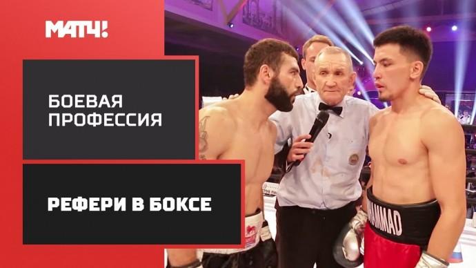 «Боевая профессия»: рефери в боксе. Документальный цикл