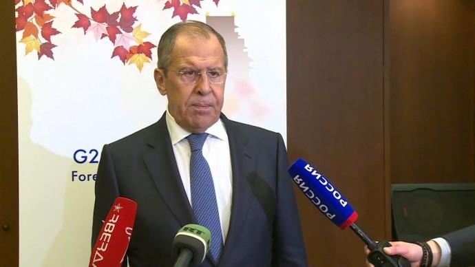 Лавров встретился с будущим послом США в России на полях G20