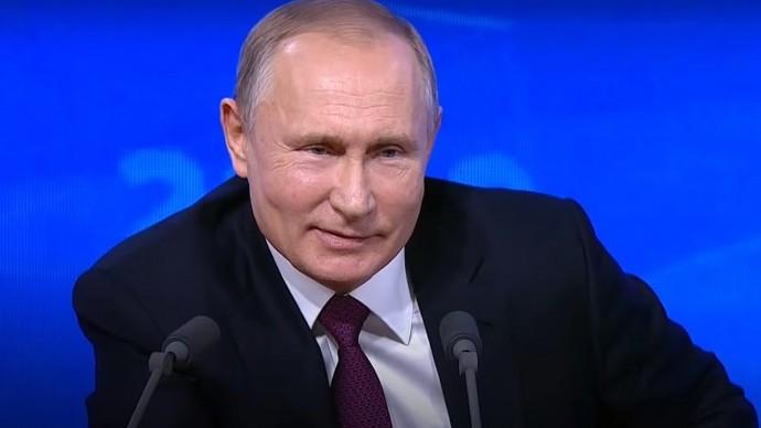 Прямая линия с Владимиром Путиным. Смешные моменты