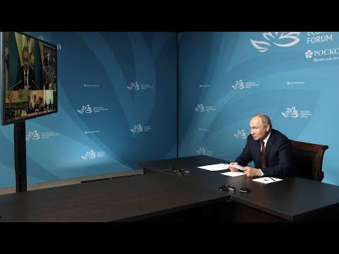 Путин принял участие в открытии социальных объектов образования в Дагестане