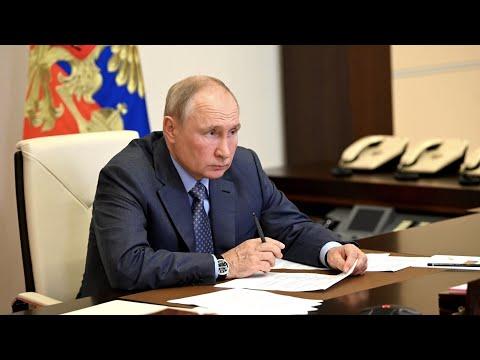 Путин назвал масштаб природных бедствий в России беспрецедентным