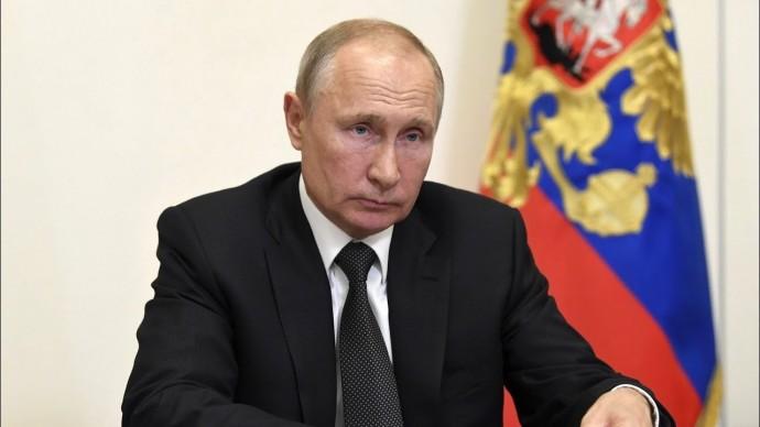 Владимир Путин обратился к жителям Дагестана