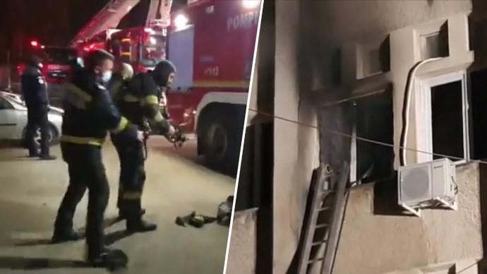 В Румынии десять человек погибли при пожаре в отделении интенсивной терапии