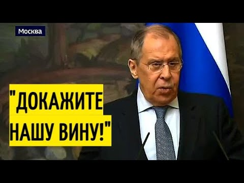 Срочно! Лавров НАЗВАЛ отравление Навального инсценировкой!
