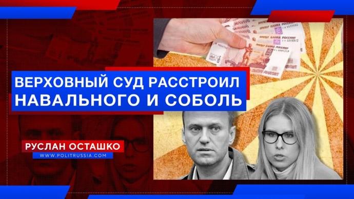 Верховный суд расстроил Навального и Соболь по иску Пригожина (Руслан Осташко)