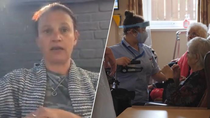 «Она просто сдалась»: потерявшая мать из-за COVID-19 британка рассказала о работе домов престарелых