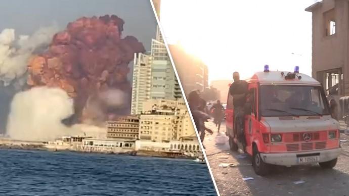 Что известно о взрыве в порту ливанского Бейрута
