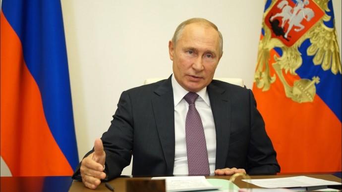 Путин провёл встречу с руководителями фракций Государственной Думы