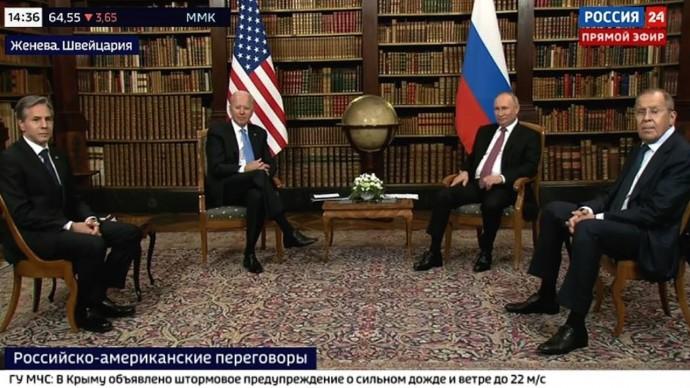 Срочно! Первые ЗАЯВЛЕНИЕ Путина и Байдена со встречи в Женеве!
