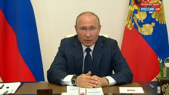 Владимир Путин объявил о завершении нерабочих дней и новых мерах поддержки россиян