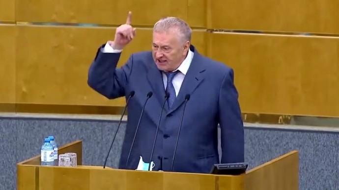 Жириновский РАЗНОСИТ двойные стандарты Запада!