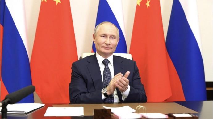 Путин и Си Цзиньпин дали старт строительству энергоблоков АЭС в Китае