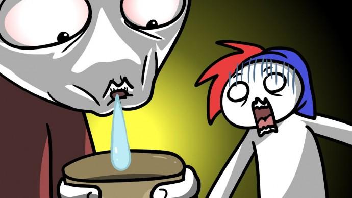 Мне плюнули в кофе... (анимация)