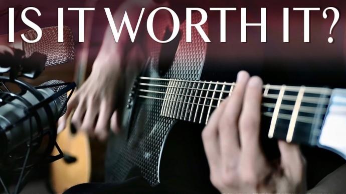 $3500 carbon fiber guitar (review, sound test, wood comparison)