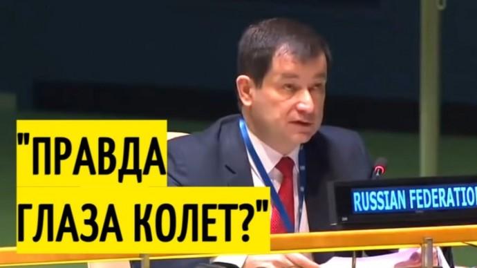 Заявление российского дипломата ШОКИРОВАЛО английского посла!