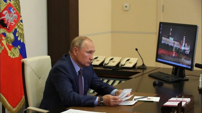 Владимир Путин провёл совещание по ликвидации последствий наводнения в Тулуне