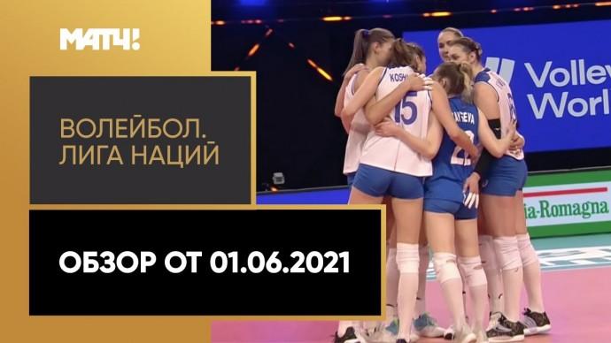 Волейбол. Лига наций. Обзор от 01.06.2021