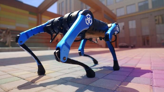 Обзор собаки-робота из будушего