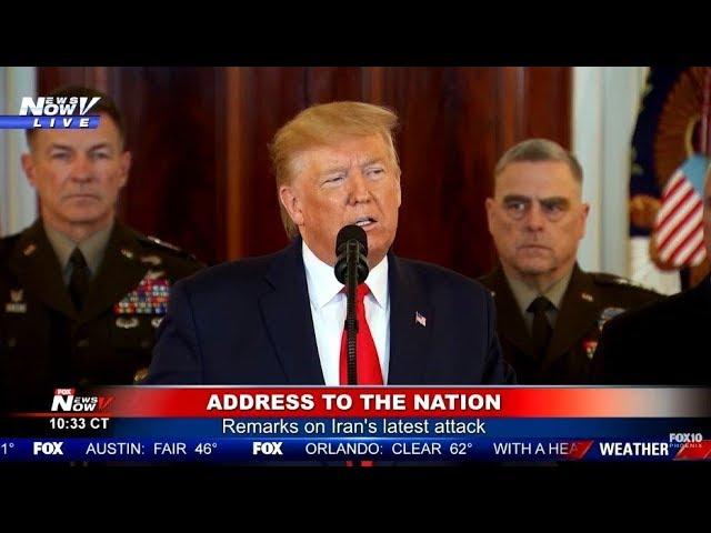 СРОЧНОЕ обращение Трампа к НАЦИИ после АTAKИ Иpaна на БA3Ы США! Весь МИР в ШОКЕ!
