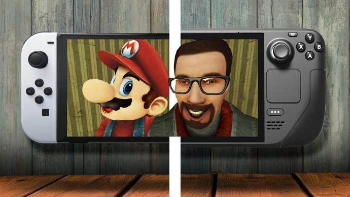Switch OLED vs Steam Deck — что выбрать?