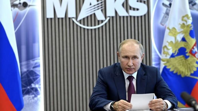 Путин призвал обеспечить стабильную работу авиапредприятий