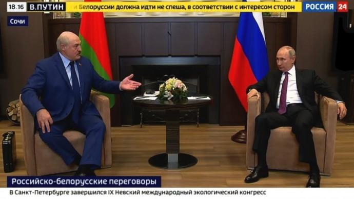 Срочно! Первые ЗАЯВЛЕНИЯ Лукашенко на встрече с Путиным!