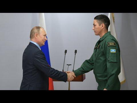 Путин наградил ликвидаторов последствий стихийных бедствий